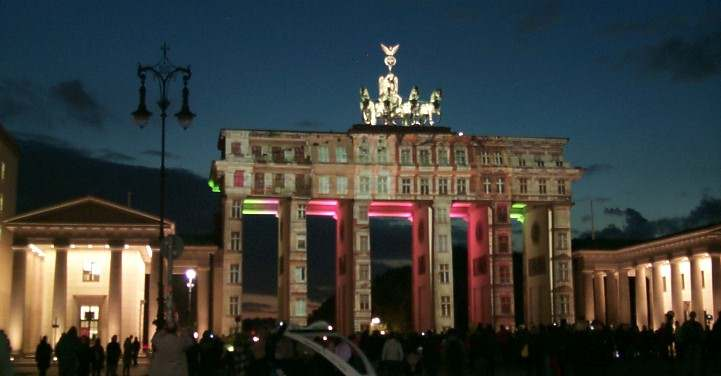 Festival of Lights am Brandenburger Tor - 2012