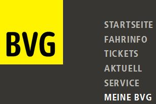 BVG Website