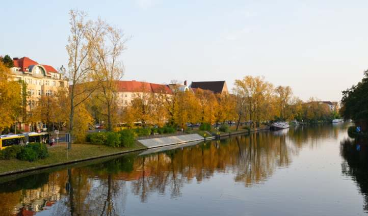 Spree am Schloss Charlottenburg.